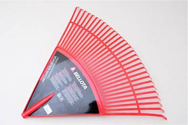 Пластиковые грабли веерные Bellota 3034-32.B (820мм) без черенка