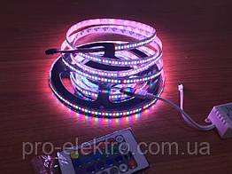 LED SMART стрічка RGB (кожен діод) AVT-04-144RGB WS2812-5V, Led/м144, IP20, 35Вт/м 1017956