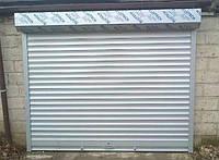 Защитная ролета для гаража Алютех ( ALUTECH ) AG/77 размер 2000x2000мм с приводом Nice NM 46000