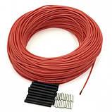 Электронагревательный шнур для инкубатора 33 Ом углеродный карбоновый нагревательный греющий кабель, фото 4