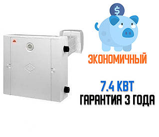 Газовый котел Гелиос АОГВ 7.4 правый