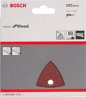 Bosch Шлифлист, в упаковке 5 шт. 105 mm, P60, фото 1