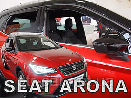 Дефлекторы окон (ветровики)  Seat Arona 2017-> 5D  4шт (Heko)