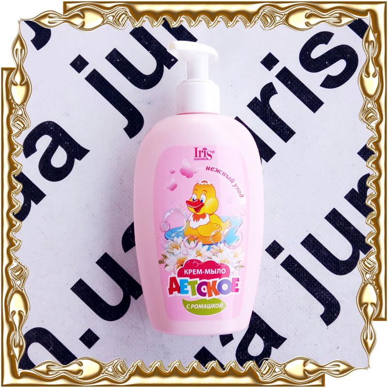 Детское крем-мыло IRIS Cosmetic (ирис) 250 мл.