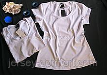 Футболка белая женская. Белая футболка трикотажная, хлопок трикотаж. Футболка белая женская