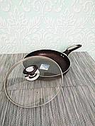 Сковорода сковорідка з мармуровим антипригарним покриттям 24 см