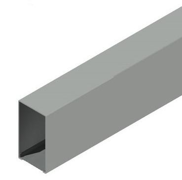 Импост не регулируемый 85 мм.+заглушка швеллер 20×40×20.