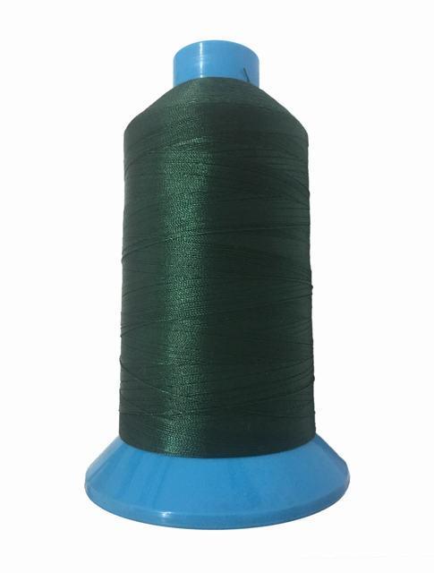 Нитка підвищеної міцності 100% РЕ 10 цв S-153 зелений темний (боб 750 ярдів) NITEX