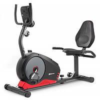 Горизонтальний велотренажер для дома HS-040L Root чорно-червоний - model 2020