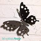 Набор ажурных 3д бабочек Лили, объемные бабочки из картона или бумаги, метелики 3d, фото 6