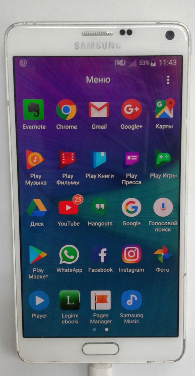 Мартфон Samsung N910C Galaxy Note 4