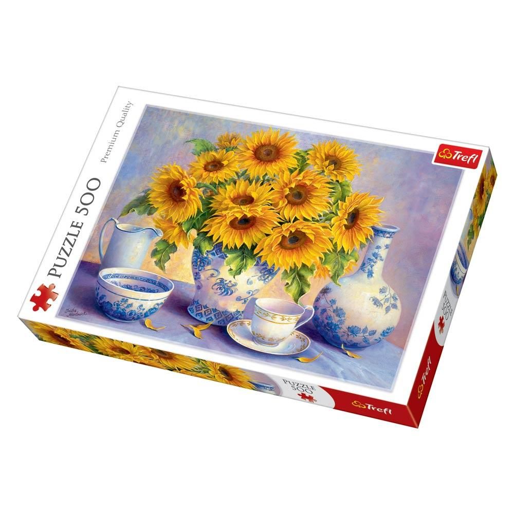 Пазл 500 Trefl Соняшники (Sunflowers)