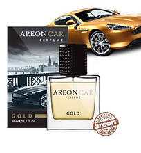 Ароматизатор воздуха Areon Car Perfume 50ml Glass Gold