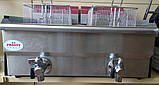 Фритюрница профессиональная на 2 емкости по 14л  FROSTY EF-172V, фото 2