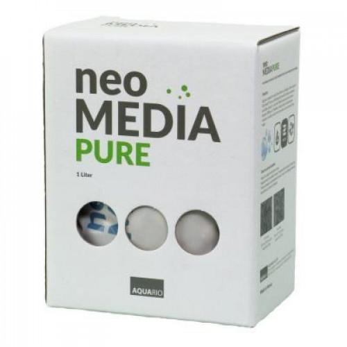 Наполнитель Aquario Neo Media Pure для биофильтрации с нейтральным pH, 1л