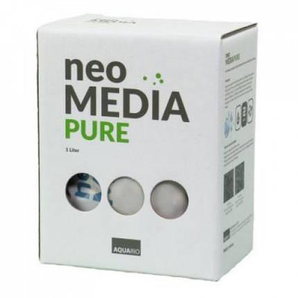 Наполнитель Aquario Neo Media Pure для биофильтрации с нейтральным pH, 1л, фото 2