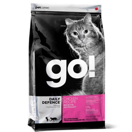 Сухий корм GO! Refresh + Renew Chicken Cat Recipe для кошенят і кішок зі свіжою куркою, овочами та фруктами, 1.81 кг, фото 2