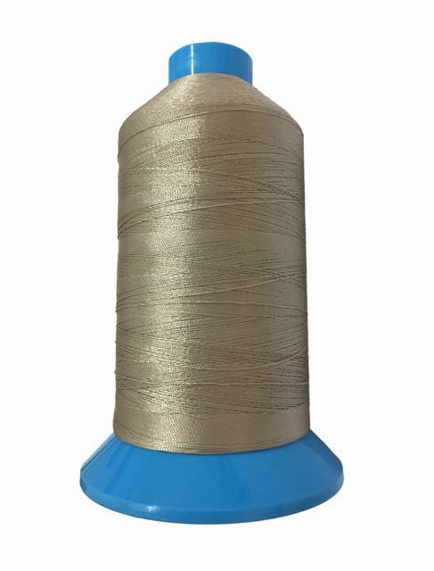 Нить повышенной прочности 100% РЕ 10 цв S-371 бежевый грязный (боб 750 ярдов) NITEX