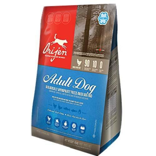 Сухий корм Orijen Freeze Dried Adult для дорослих собак всіх порід, 454 г