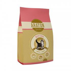 Сухий корм Araton Adult Kitten для котів вагою від 0.5 до 5 кг, 15 кг