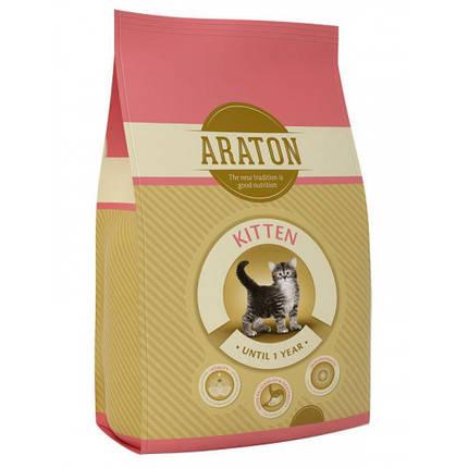 Сухой корм Araton Adult Kitten для кошек весом от 0.5 до 5 кг, 400 г, фото 2
