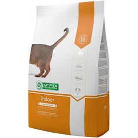 Сухий корм Natures Protection Indoor для збалансованого харчування кішок вагою від 1 до 8 кг, 2 кг