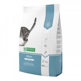 Сухий корм Natures Protection Kitten для котів вагою від 0.5 до 5 кг, 2 кг