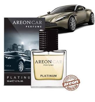 Ароматизатор повітря Areon Car Perfume 50ml Glass Platinum
