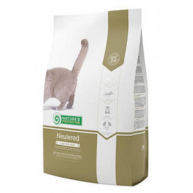 Сухой корм Natures Protection Neutered для кошек весом от 1 до 8 кг, 2 кг