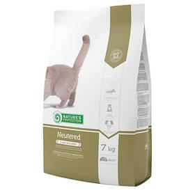 Сухой корм Natures Protection Neutered для кошек весом от 1 до 8 кг, 7 кг