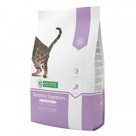 Сухий корм Natures Protection Sensitive Digestion для кішок з чутливим травленням від 1 до 8 кг, 2 кг