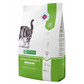 Сухий корм Natures Protection Urinary для зниження повторного формування струвитов для котів вагою від 1 до 8 кг, 2 кг