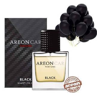 Ароматизатор повітря Areon Car Glass Perfume Black