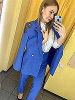 Костюм Жін. 44(р) блакитний 2344 justwoman Туреччина Осінь-B