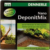 Специальная грунтовая подкормка Dennerle Nano Deponit Mix для мини-аквариумов. Готовая смесь, 1 кг