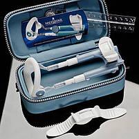 Экстендер для увеличения члена Male Edge Basic, ремешковый, вес всего 65гр, прочный пластик, фото 2