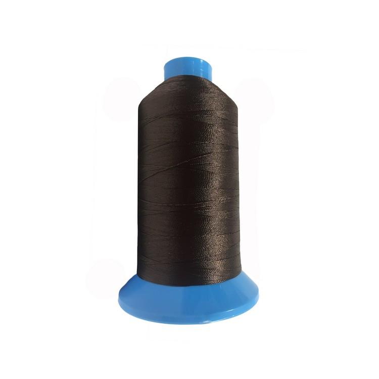 Нить повышенной прочности 100% РЕ 10 цв S-868 коричневый темный (боб 750 ярдов) NITEX