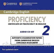 Аудио диск Cambridge English: Proficiency 2 Audio CD Set