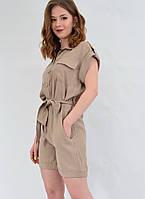 Комбинезон женский летний с шортами в стиле сафари MEES Турция 92153