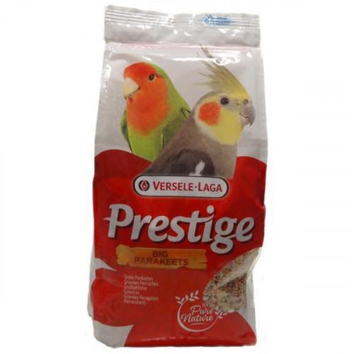 Корм Versele-Laga Prestige Big Parakeets для средних попугаев, зерновая смесь, орехи, 20 кг