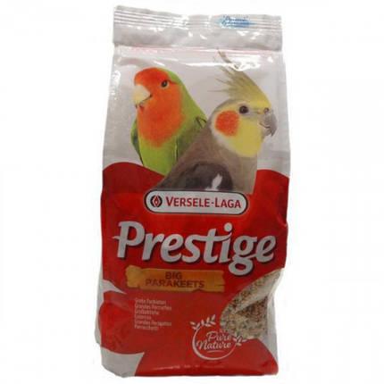 Корм Versele-Laga Prestige Big Parakeets для средних попугаев, зерновая смесь, орехи, 20 кг, фото 2