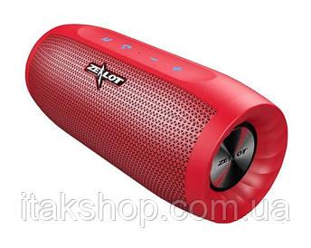 Бездротова стерео Bluetooth колонка Zealot S16 (Червоний)