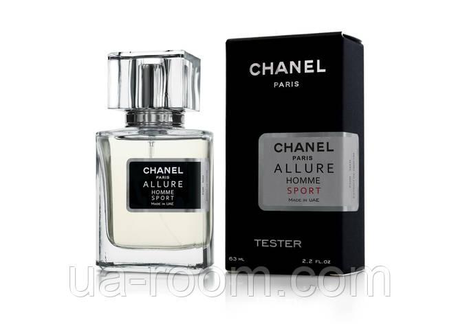 Тестер мужской Chanel Allure Homme Sport, 63 мл., фото 2