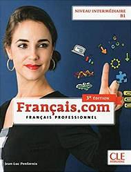Français.com 3e Édition Intermédiaire Livre avec DVD-ROM