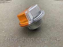 Ліхтар передній (підфарник) метал ЗІЛ МАЗ КАМАЗ УАЗ 469.31519