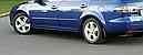 Брызговики MGC Mazda 6 (Мазда) 2002-2007 г.в. комплект 4 шт GJ6A-51-840A, GJ6A51-850A, GJ6A51-870, GJ6A-51-880, фото 6
