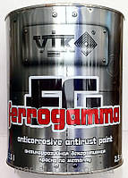 "ТМ ""VIK""Фарба по металу FERRO GAMMA 1765(темно-коричнева) 0.75 л (шт.)"