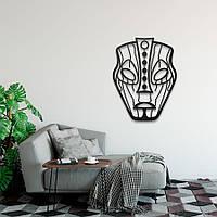 """Декор для стен. Панно из металла """"Этническая маска Loki"""", фото 1"""
