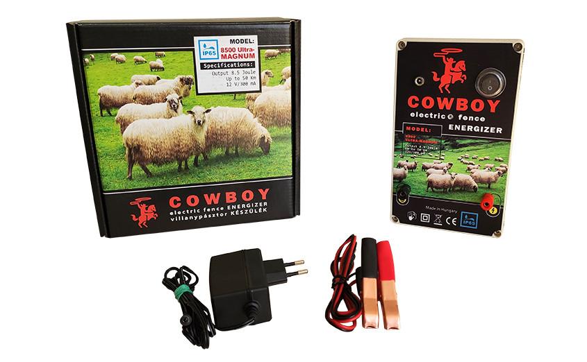 Электропастух Cowboy 8500 ultra magnum, 8,5 Дж