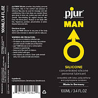 Лубрикант на силиконовой основе pjur MAN Basic personal glide 100 мл, фото 2